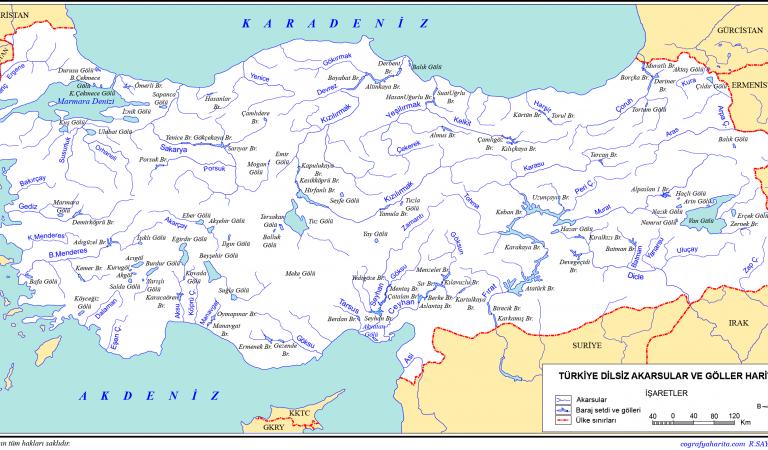 Türkiye akarsularının genel özellikleri
