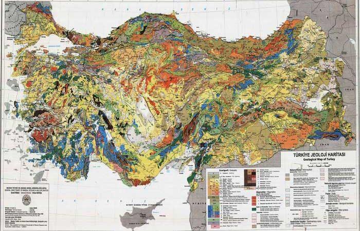 Türkiye'de yeryüzü şekillerinin oluşum süreci